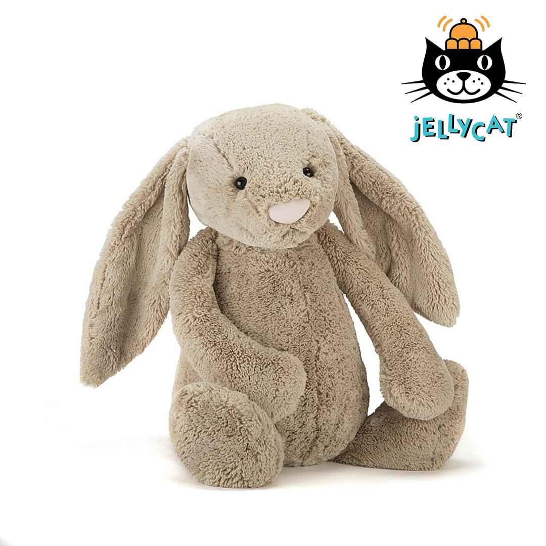 Jellycat Beige Bashful Bunny Large