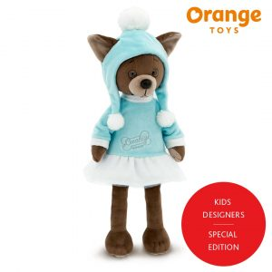 Lucky Kiki Tender Look Lucky Doggy Orange Toys
