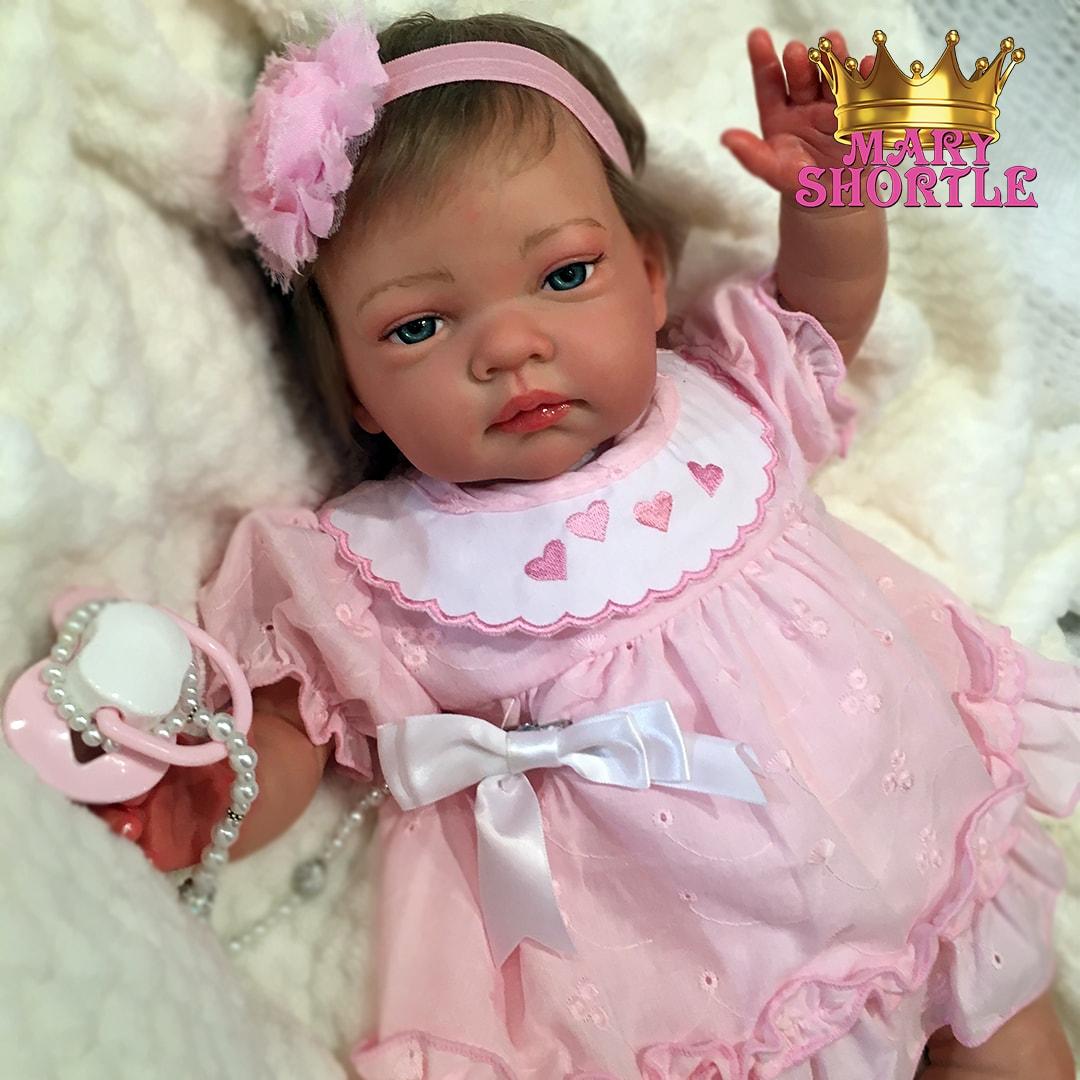 Sofia Awake Ash Blonde Reborn Mary Shortle