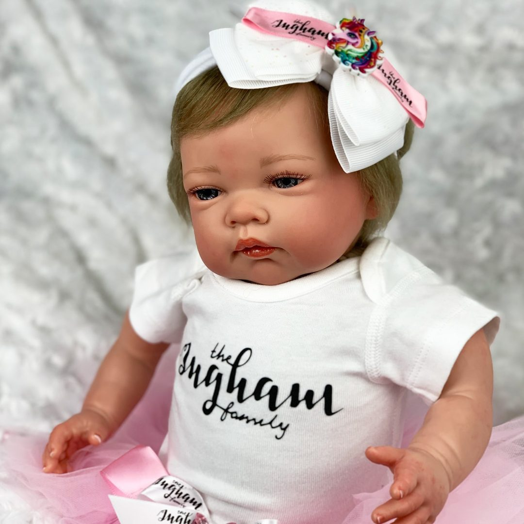 The Ingham family Avia Reborn Girl Mary Shortle