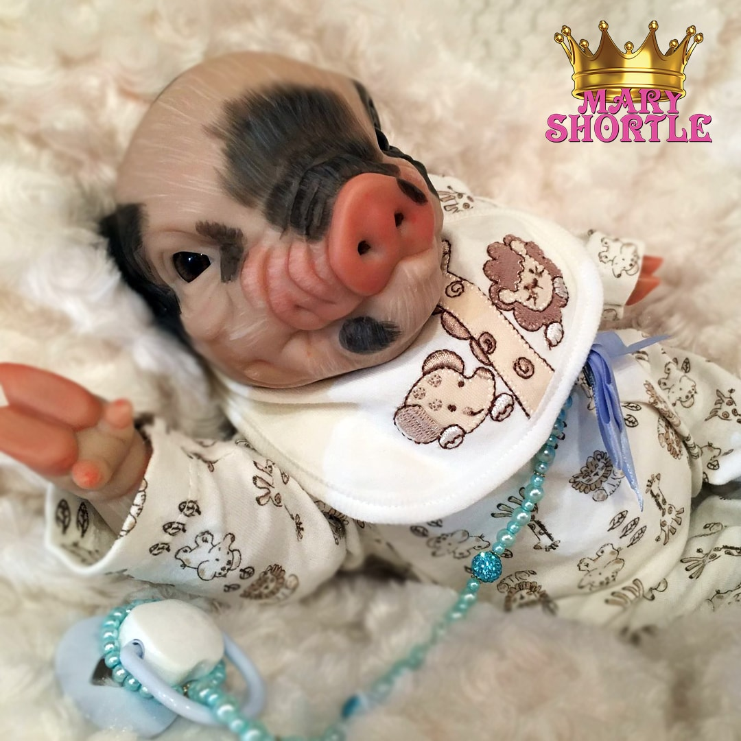 Charles Reborn Pig Mary Shortle