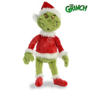 Christmas The Grinch Teddy Mary Shortle