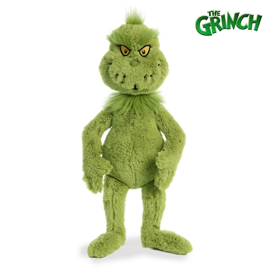 The Grinch Teddy Mary Shortle