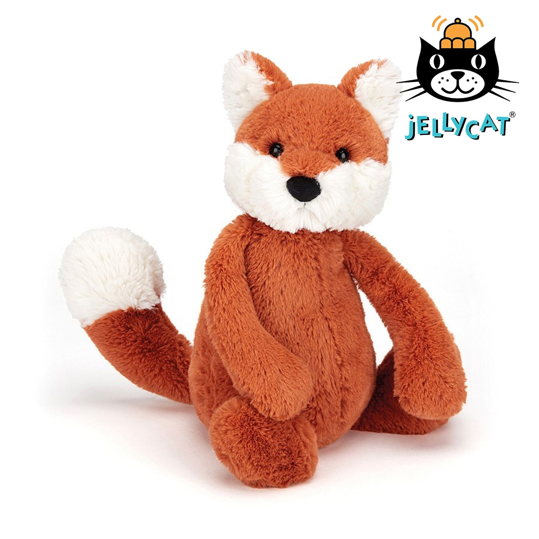 Jellycat Bashful Fox Cub Mary Shortle