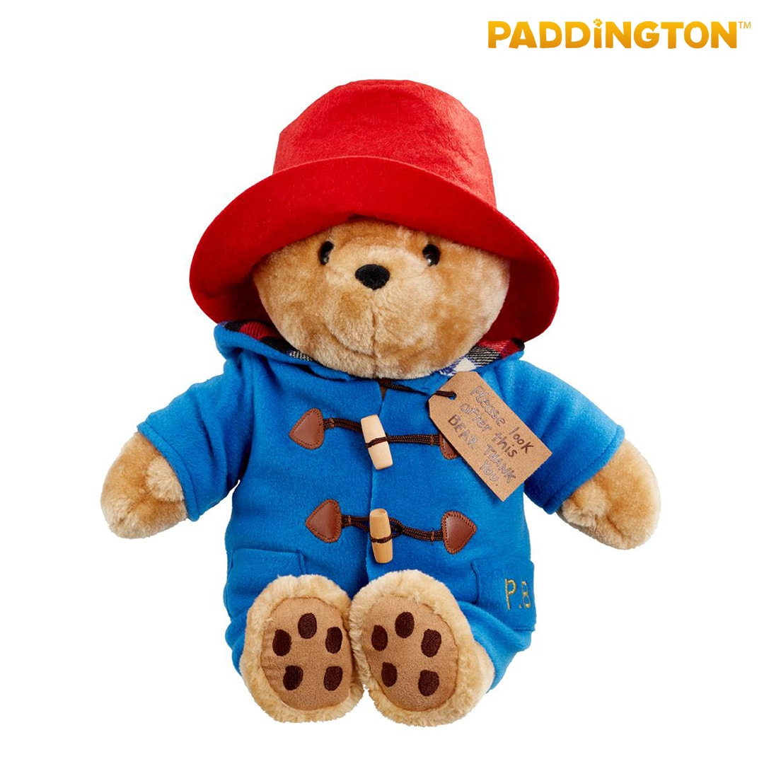 Large Cuddly Classic Paddington Bear Mary Shortle