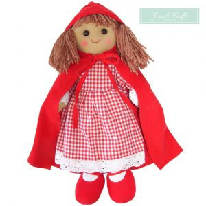 Red Riding Hood Rag Doll Powell Craft Boutique Mary Shortle