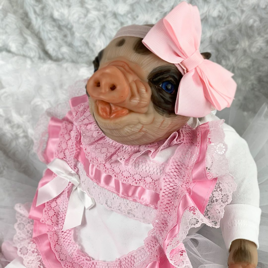 Twinky Reborn Pig Mary Shortle