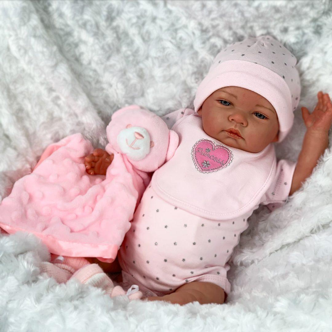 Serena Reborn Girl Doll Mary Shortle