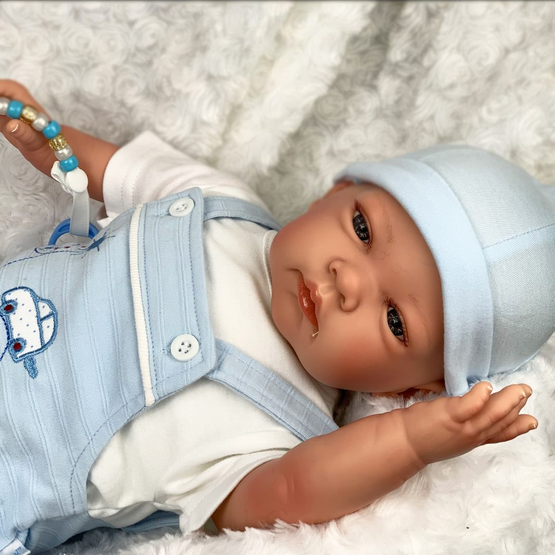 Stefano Reborn Baby Boy Doll with Comforter
