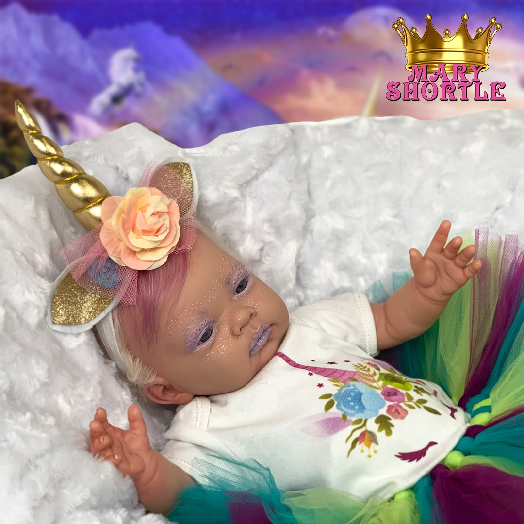 Amethyst Unicorn Reborn Mary Shortle