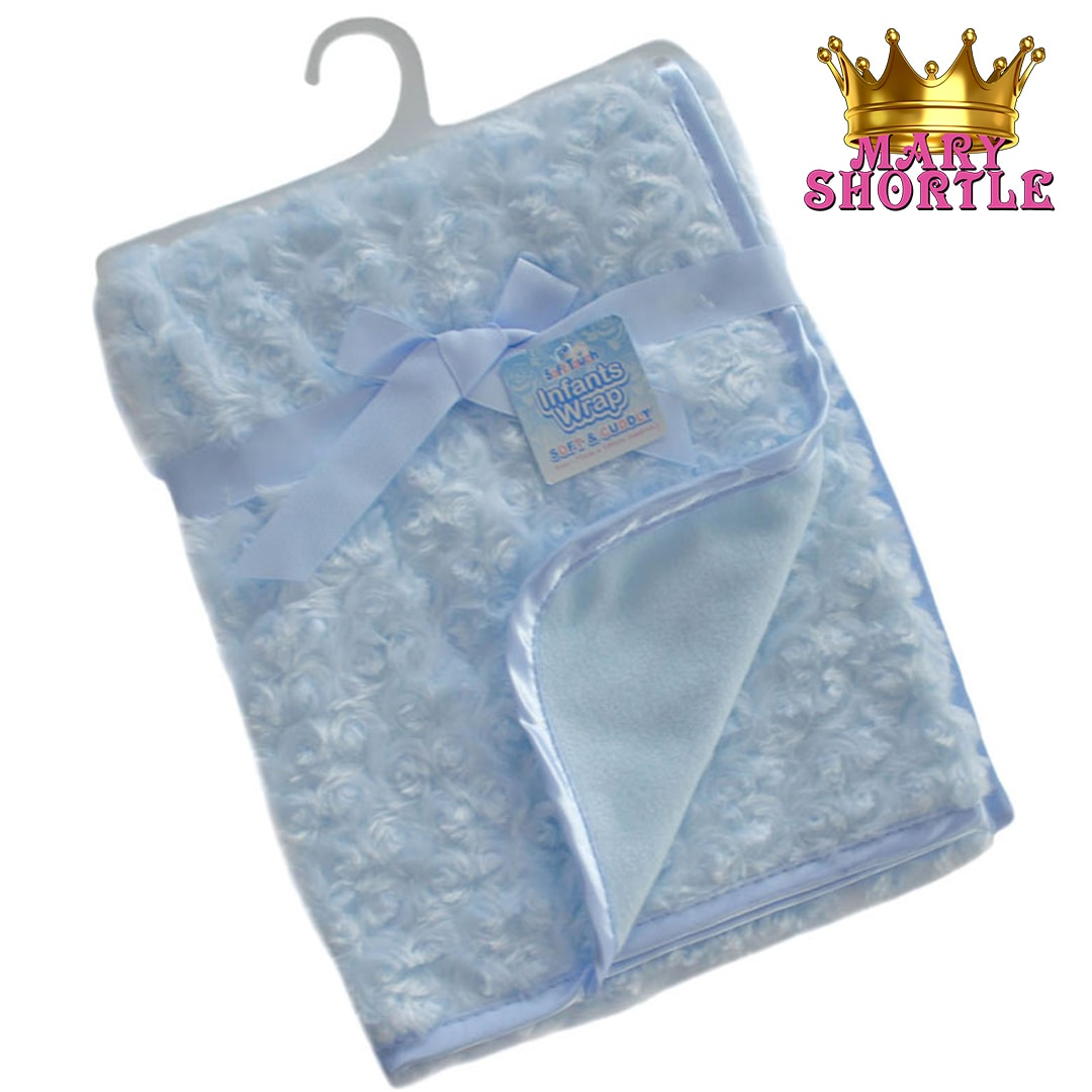 Deluxe Blue Blanket Mary Shortle