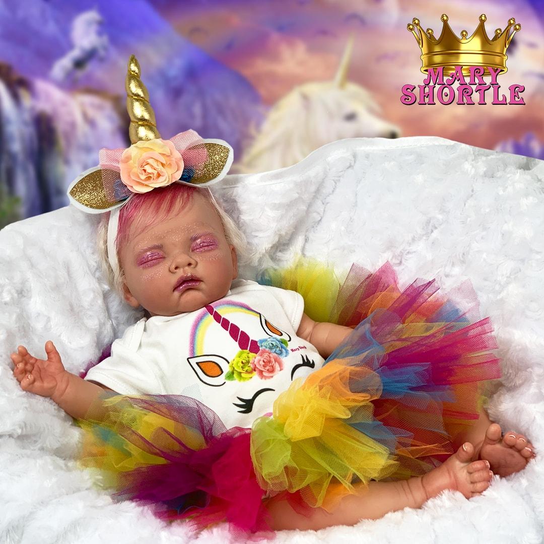 Magenta Unicorn Reborn Mary Shortle