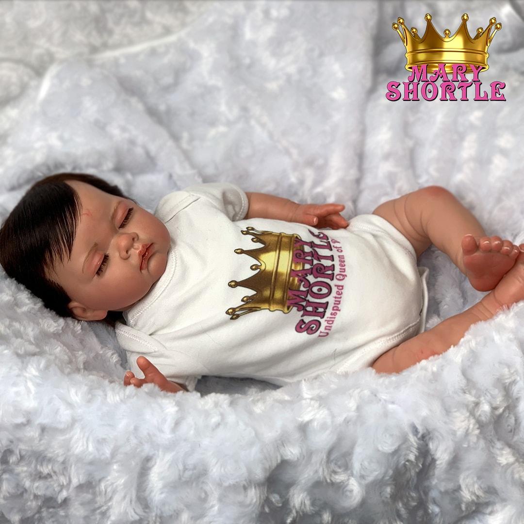 Sofia Stevie Reborn Asleep Brunette Mary Shortle