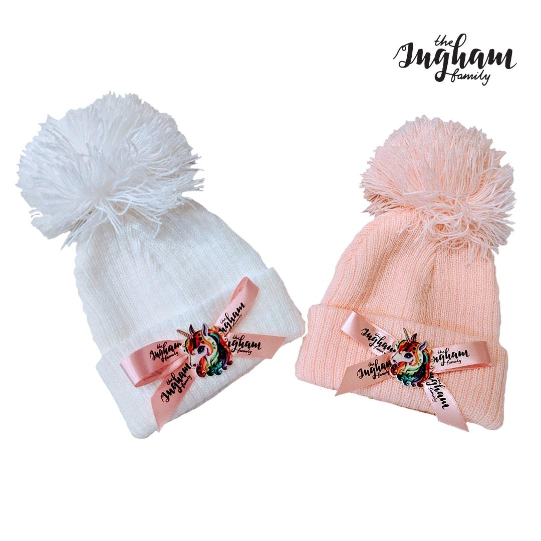 The Ingham Family Pom Pom Hat Mary Shortle