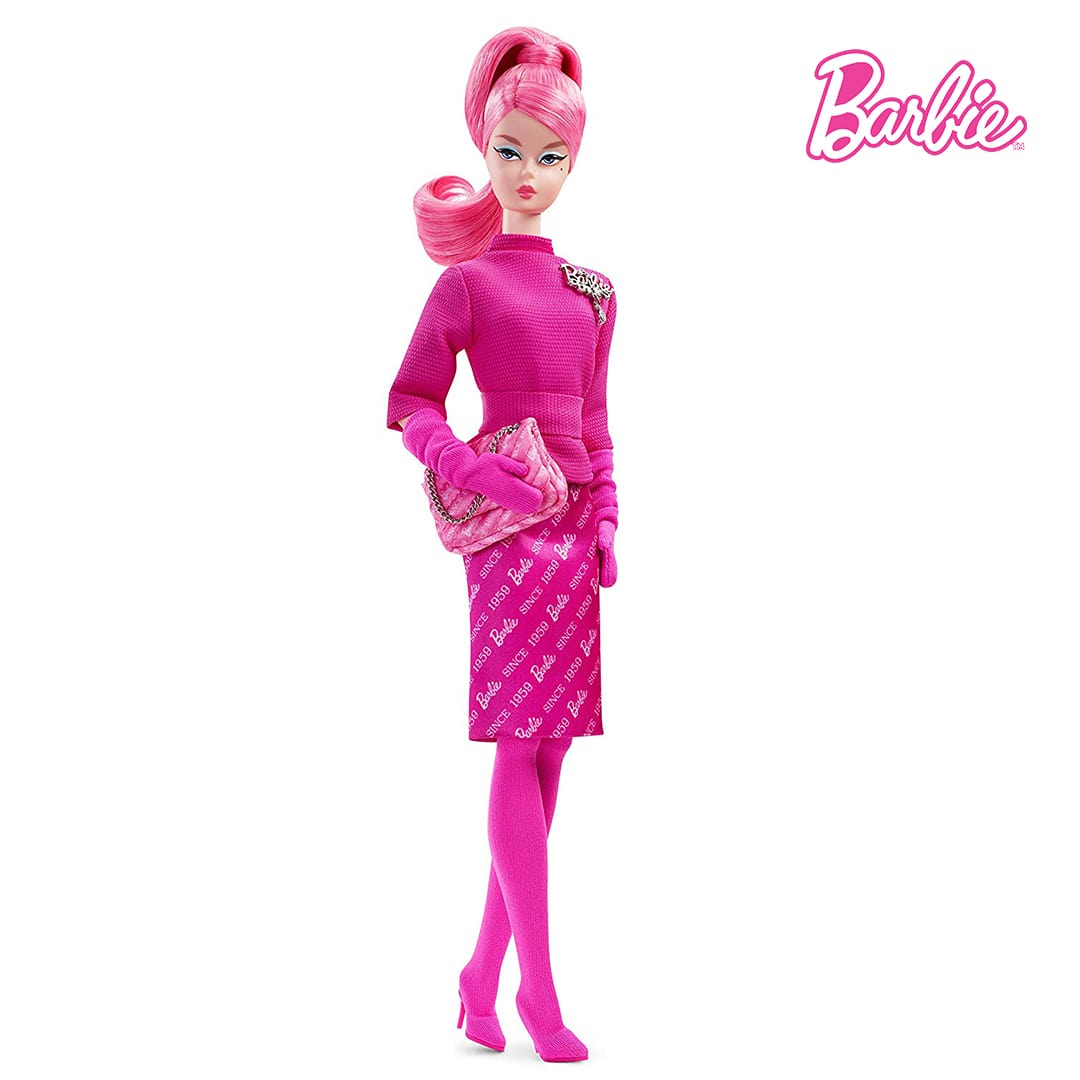 60th Anniversary Barbie Proudly Pink Doll