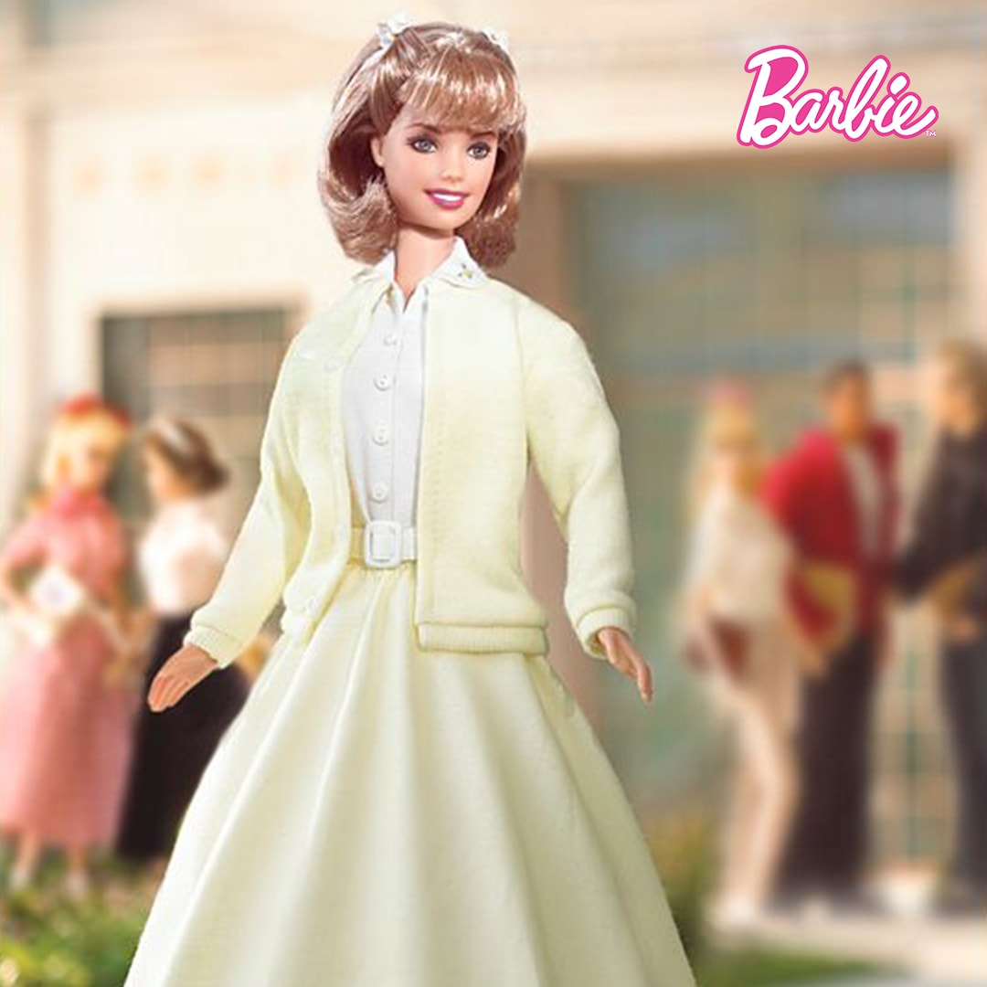 Barbie as Sandy from Grease