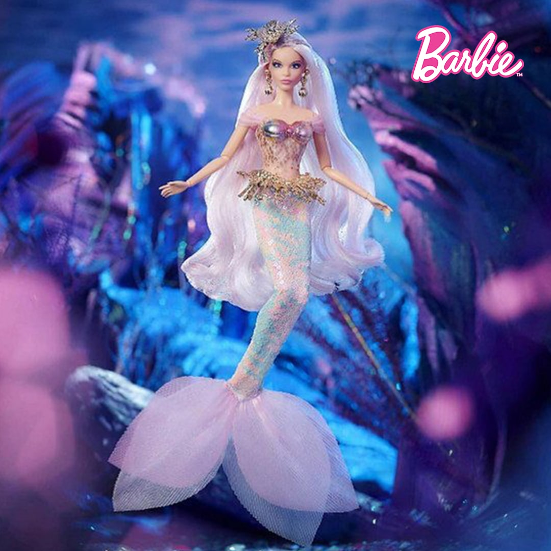 Mermaid Enchantress Barbie Mary Shortle