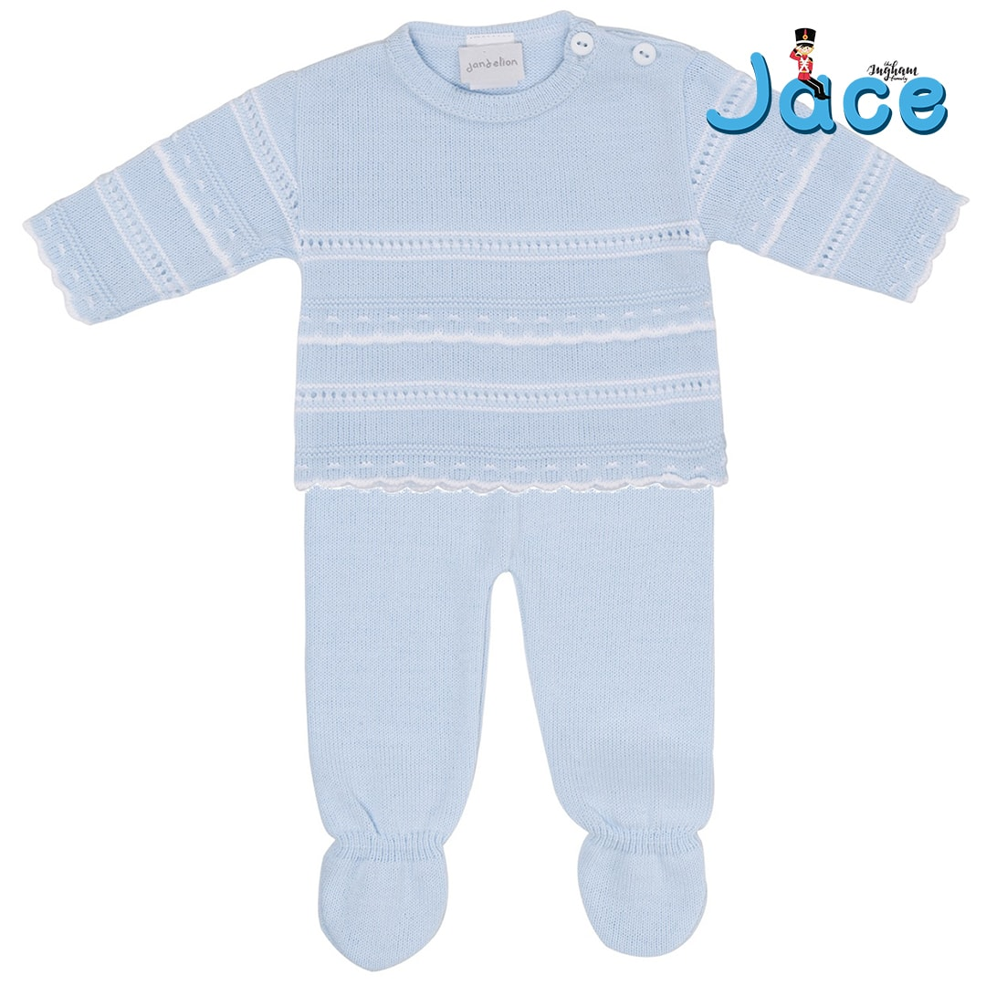 Jace Ingham The Ingham Family Knitted 2 piece legging set Mary Shortle