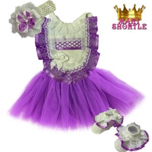 Princess Outfit Purple Mary Shortle