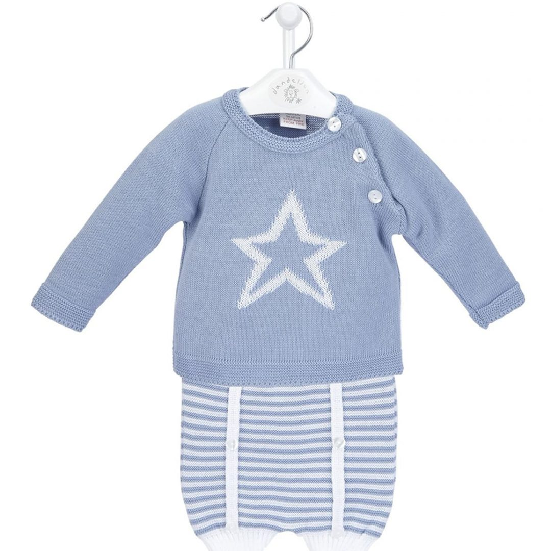 Star Jumper & Stripe Shorts Set Mary Shortle
