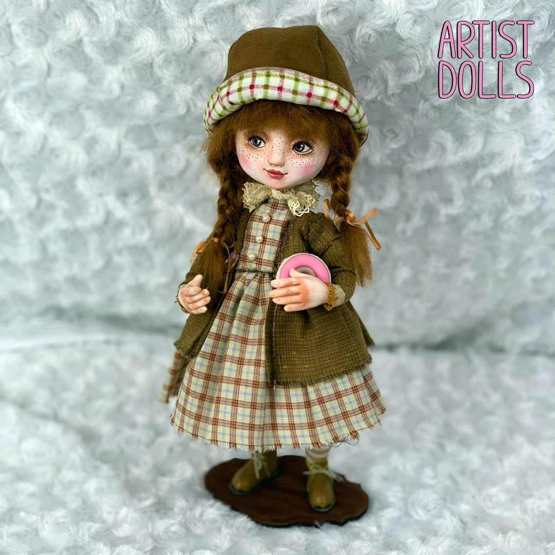 Veronika Artist Dolls by Anna Mary Shortle