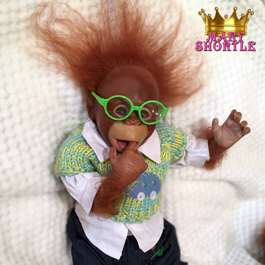 Wayne Reborn Orangutan Monkey Mary Shortle