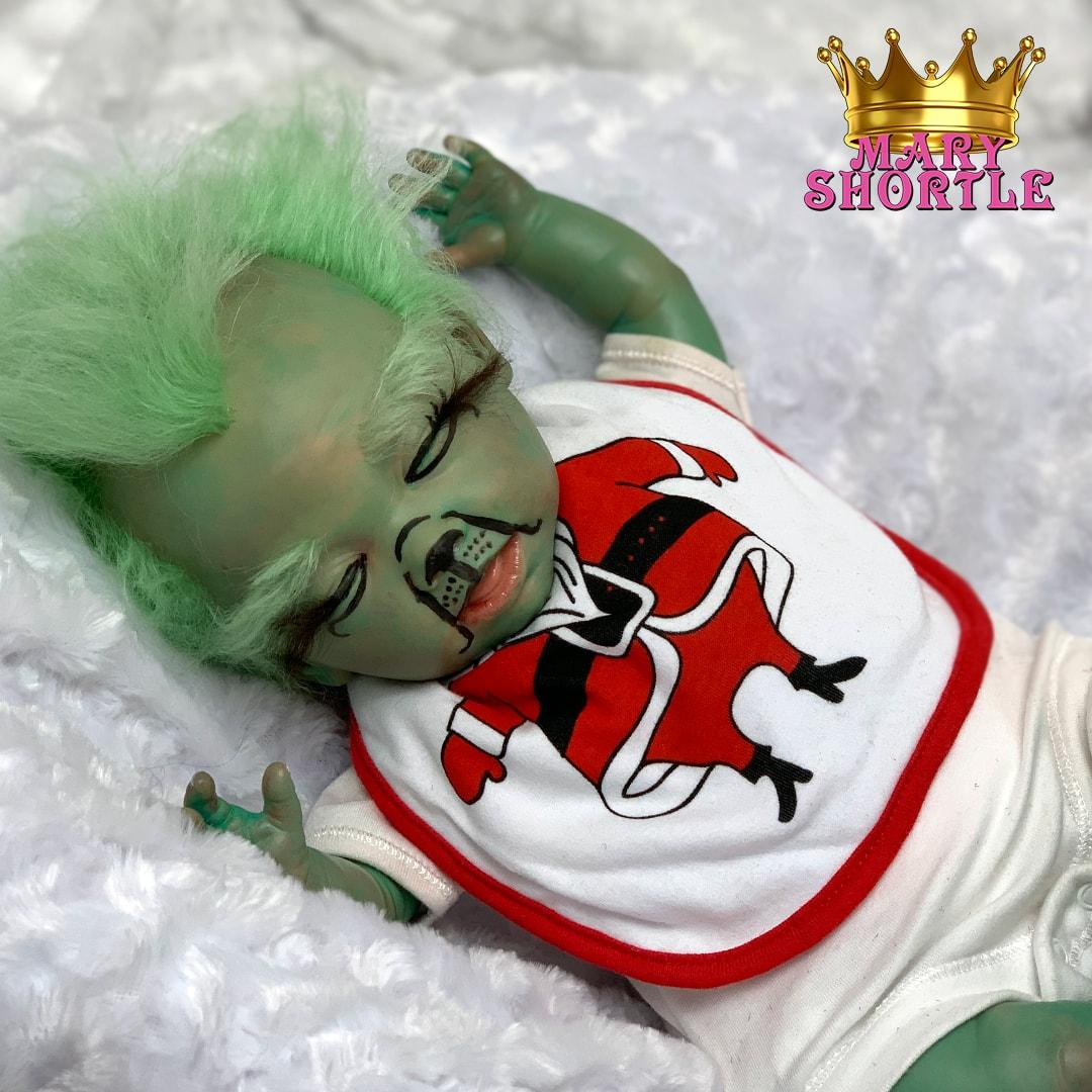 Master. Grinch Asleep Reborn Mary Shortle