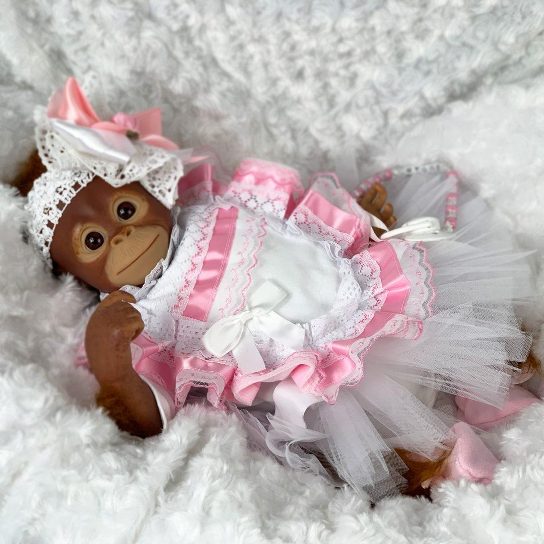 Miss Monkey Reborn Monkey Mary Shortle