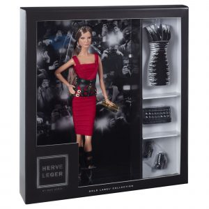 Herve Leger by Max Azria Barbie Doll Mary Shortle