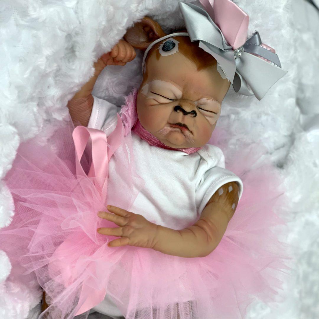 Reborn Doll Baby Fawn Finella Mary Shortle