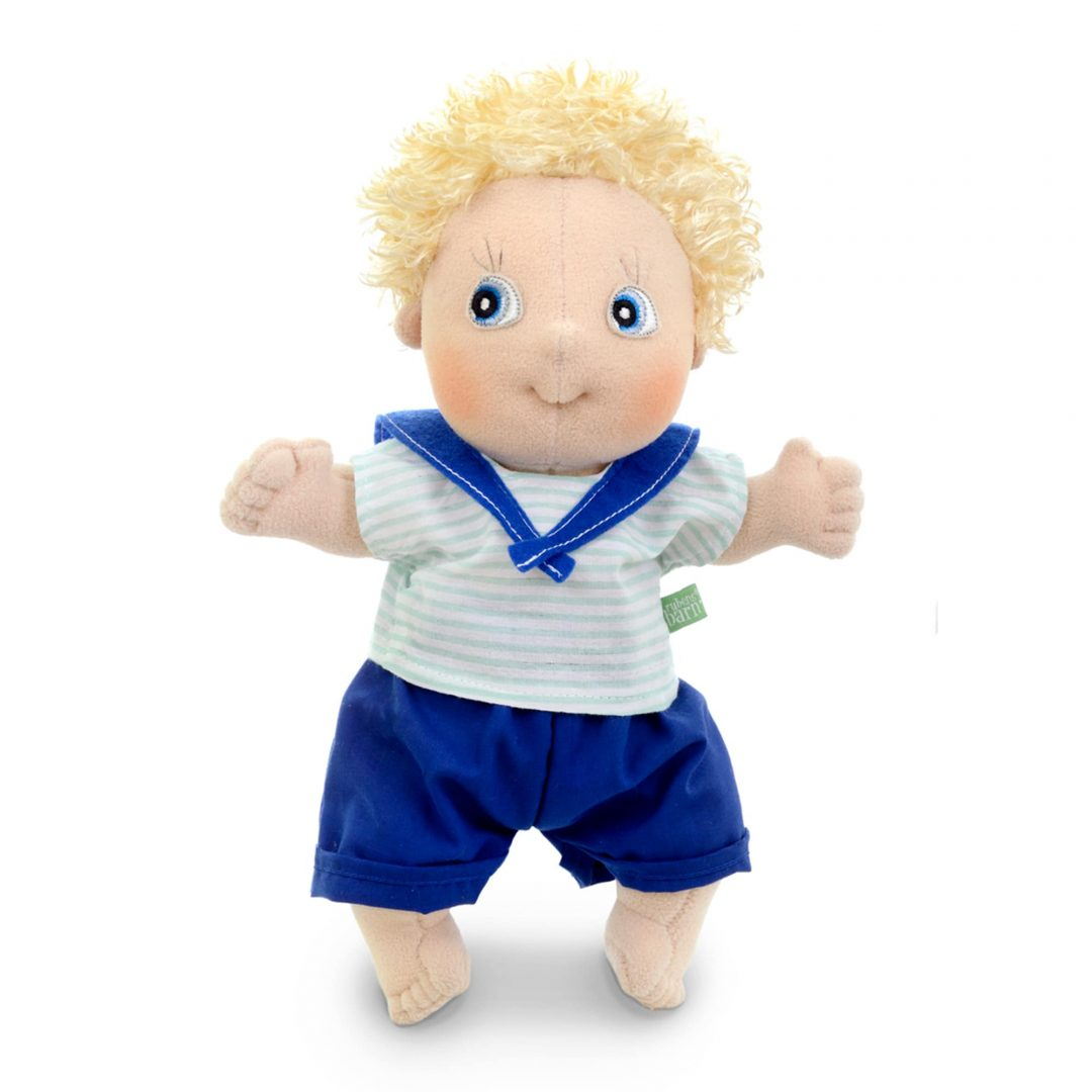 Rubens Barn Cutie Adam Doll Mary Shortle