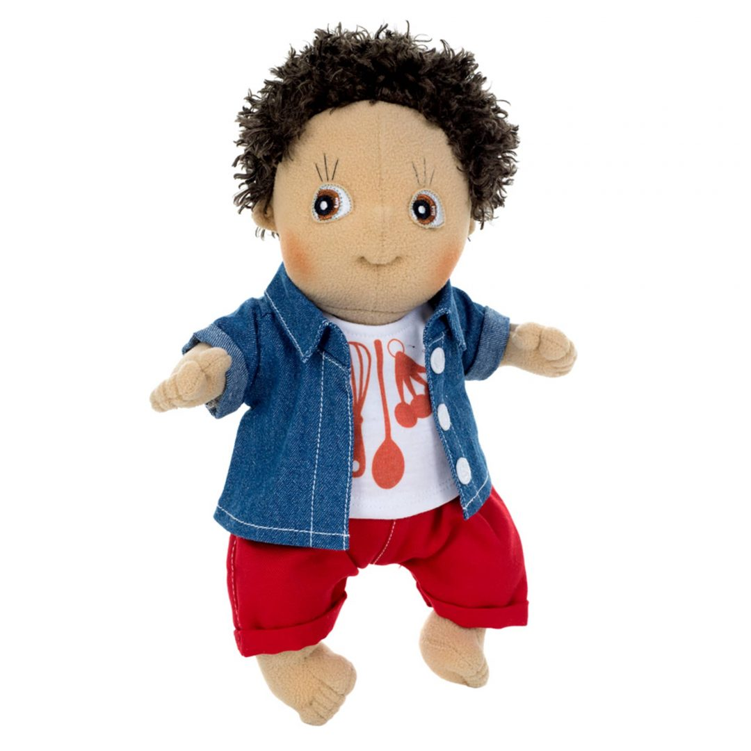 Rubens Barn Cutie Charlie Activity Doll Mary Shortle