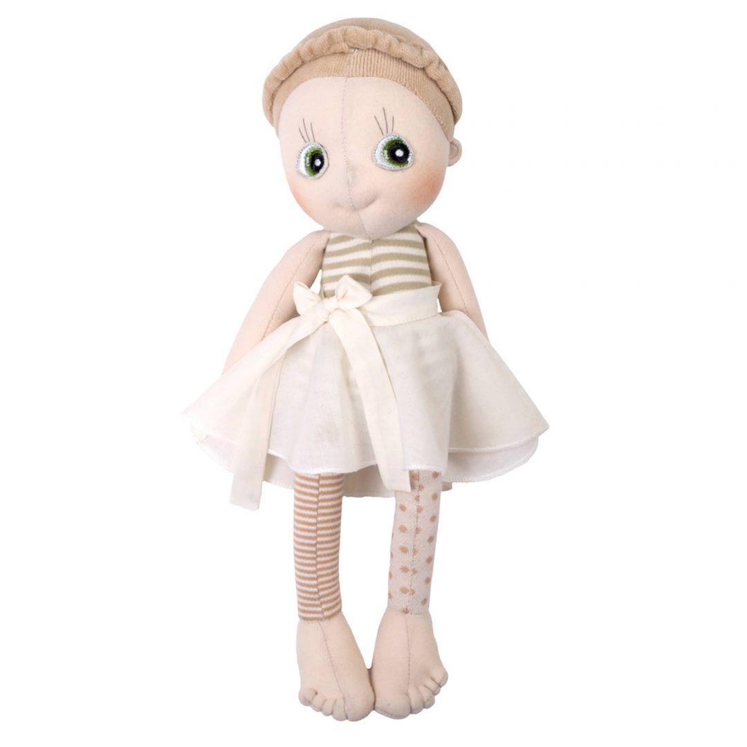Rubens Barn Ecobuds Hazel Doll Mary Shortle