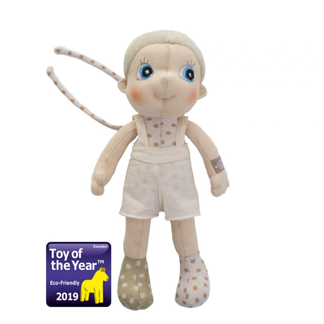 Rubens Barn Mini Ecobuds Elm Doll Mary Shortle