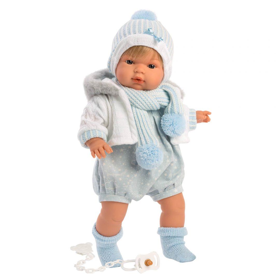 Mason Llorens Boy Play Doll Mary Shortle