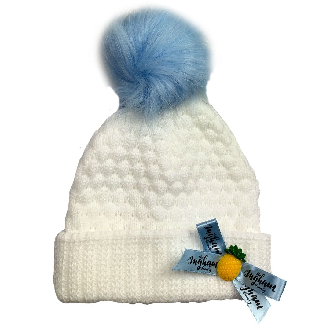 Pineapple Pom Pom Hat The Ingham Family Mary Shortle