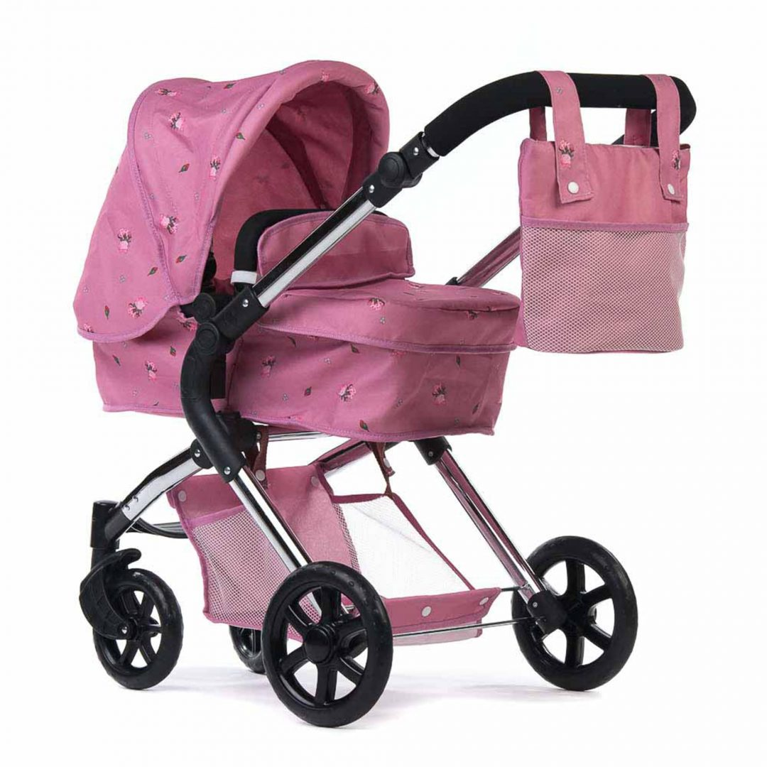 Roma Darcie Single Dolls Pram Pink Mary Shortle