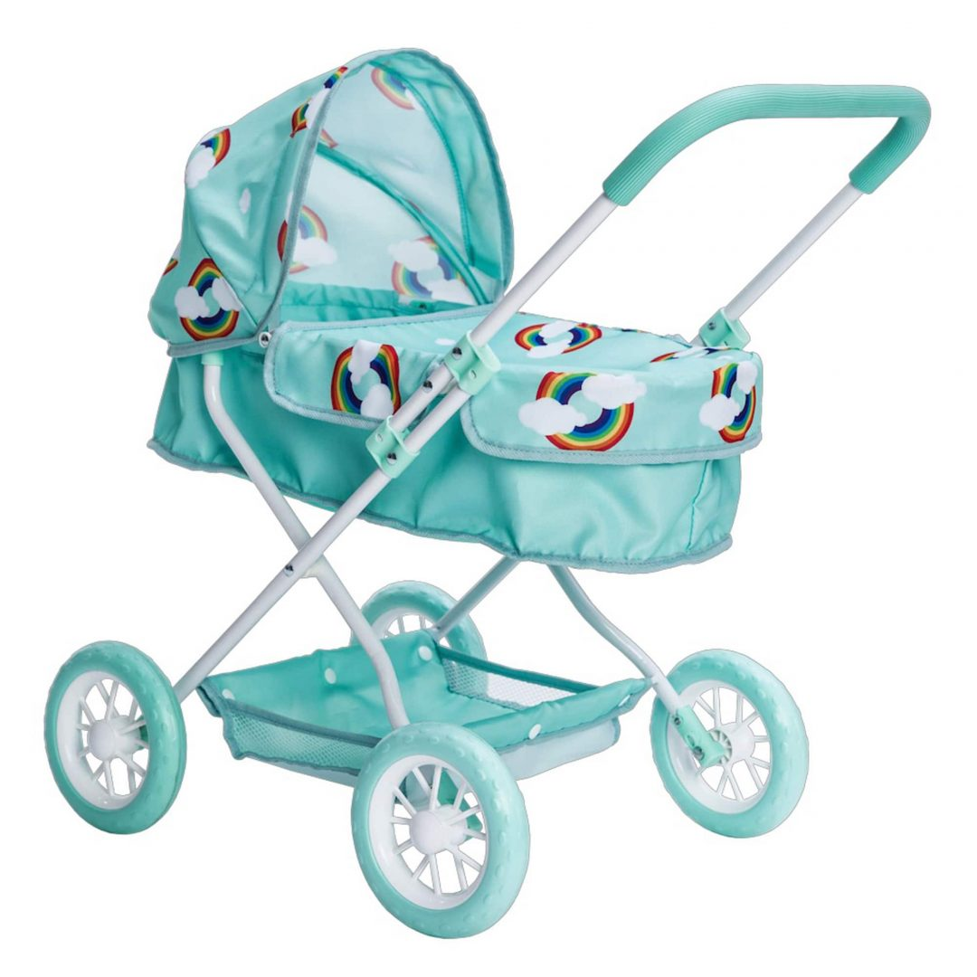 Roma Rupert Dolls Pram Blue Mary Shortle