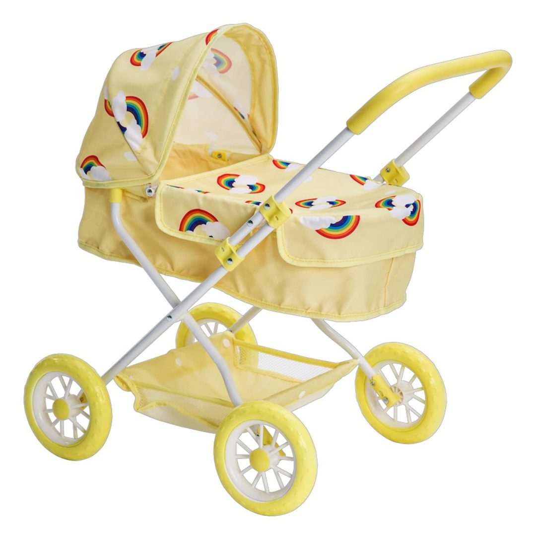 Roma Rupert Dolls Pram Yellow Mary Shortle