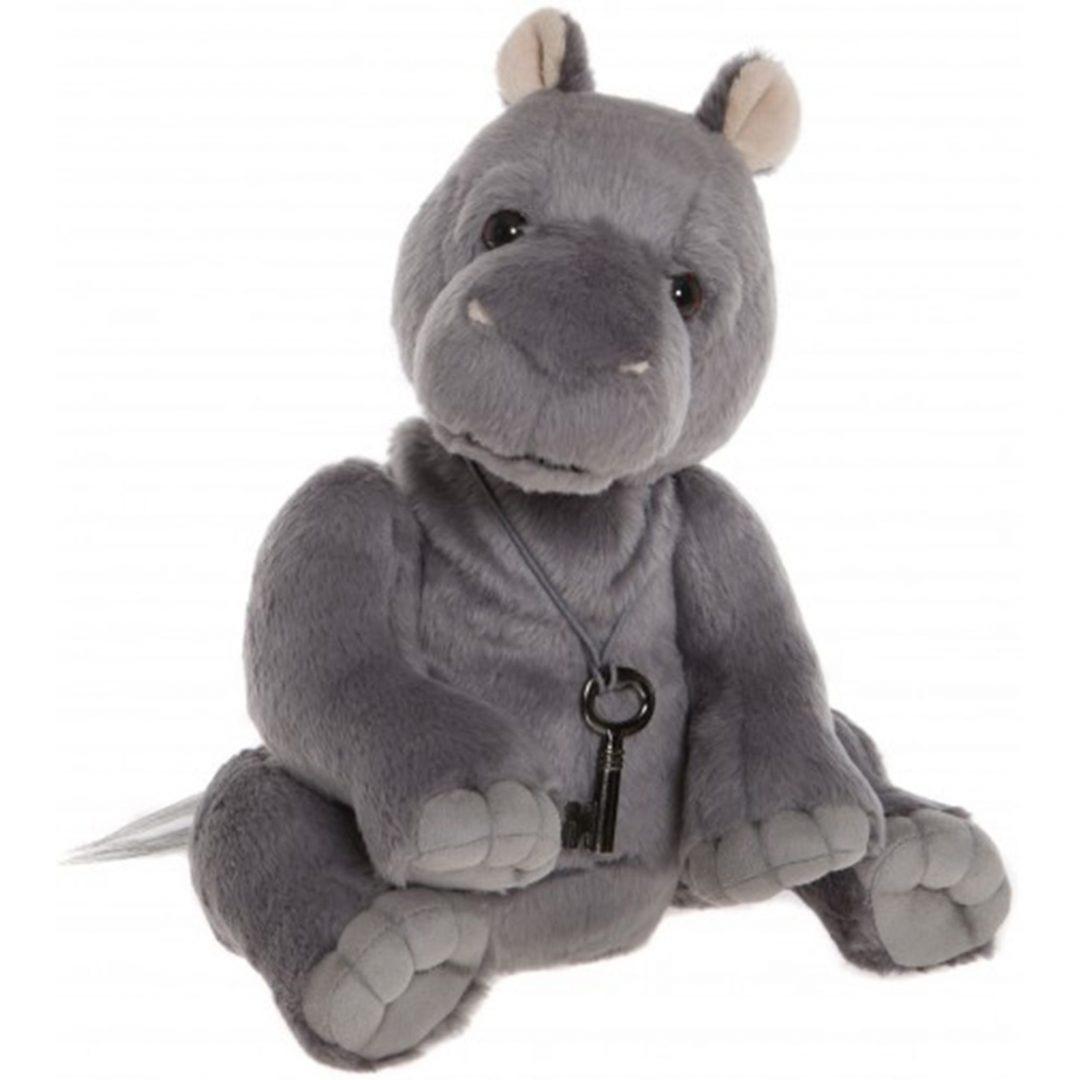 Charlie Bears Hank Hippo Teddy Bear Mary Shortle