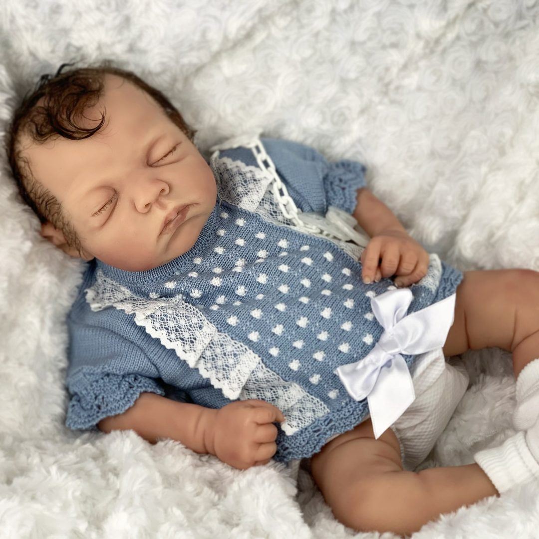 Max Partial Silicone Baby Doll Mary Shortle