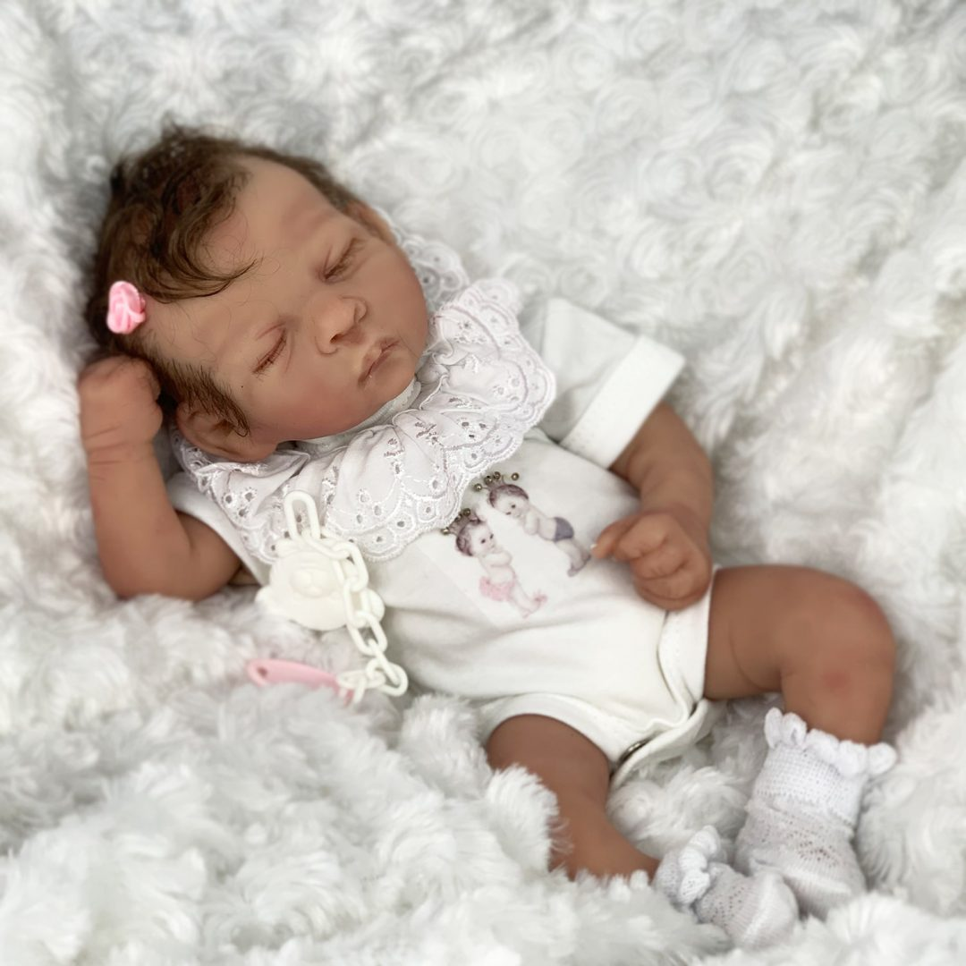 Nellie Partial Silicone Baby Doll Mary Shortle
