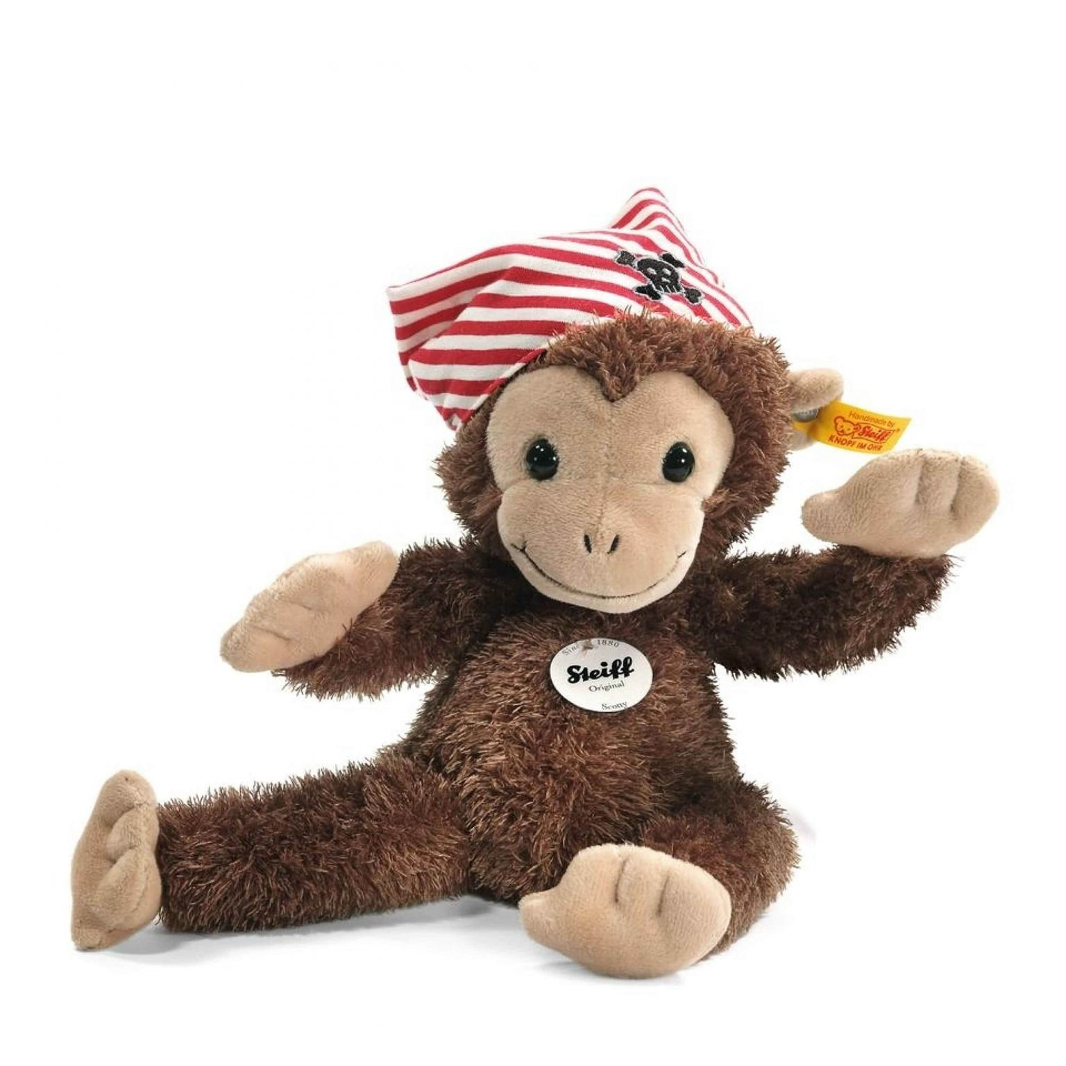 Scotty Monkey Steiff Teddy Bear Mary Shortle
