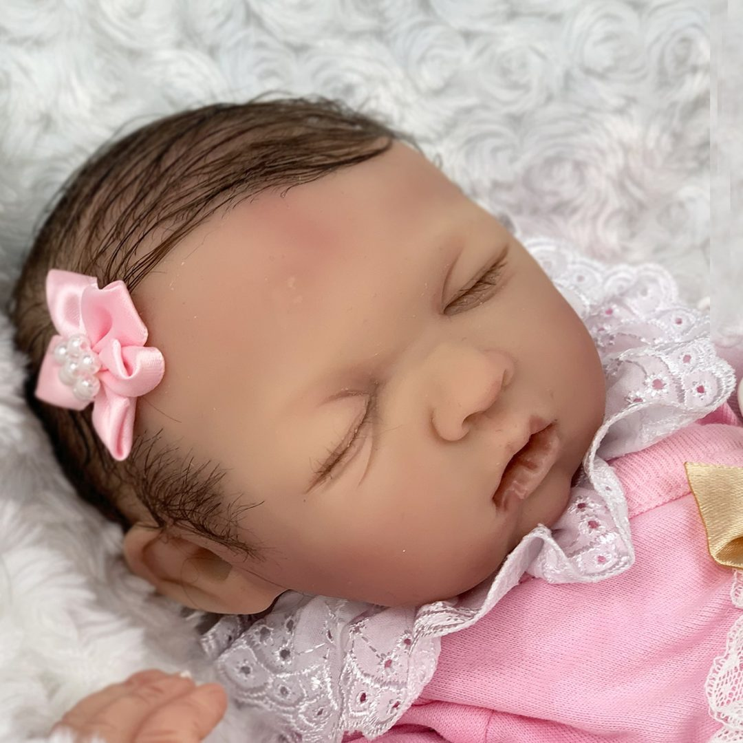 Nelly Partial Silicone Baby Doll Mary Shortle