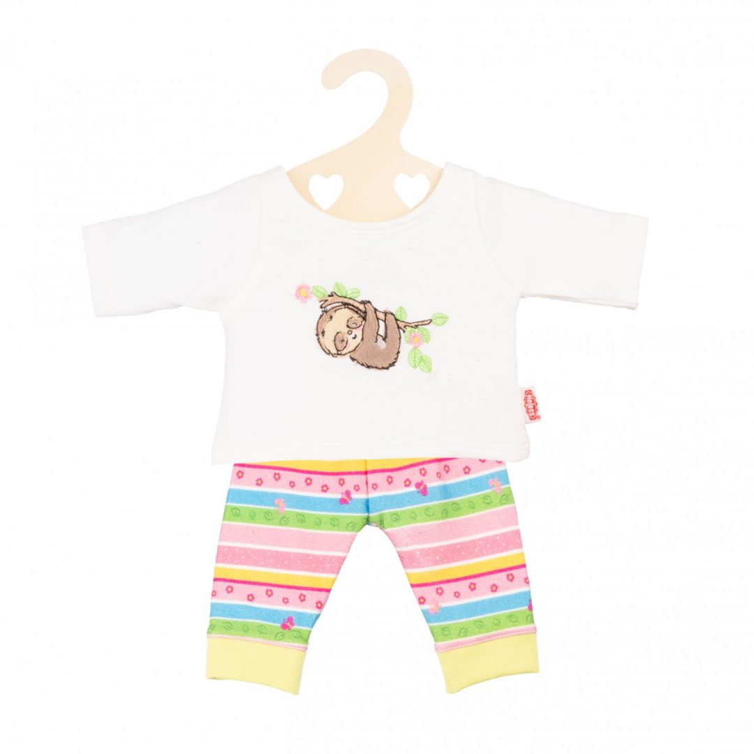 Pyjama Fluffy Sloth Clothes Mary Shortle