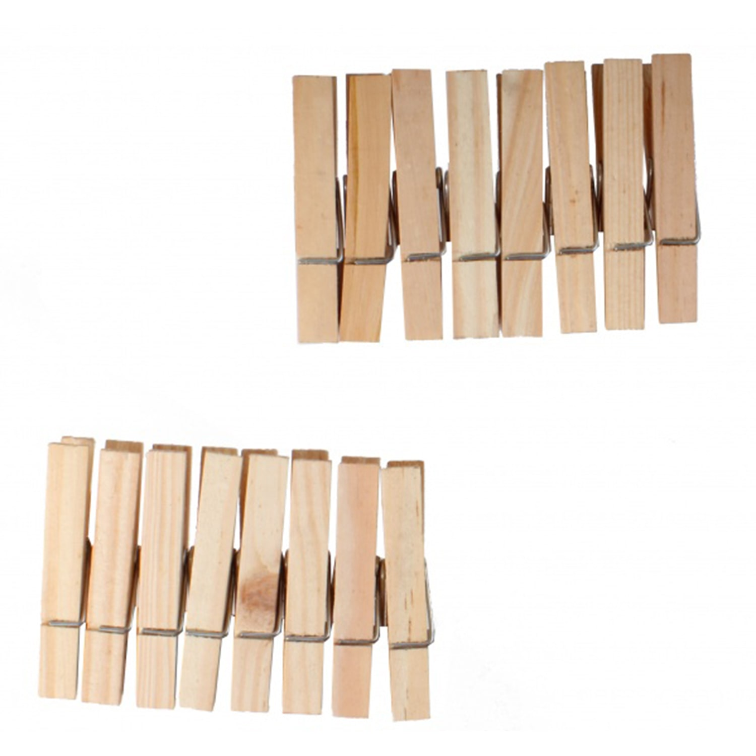 16 Wooden Pegs Mary Shortle