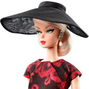 Elegant Rose Cocktail Dress Barbie Mary Shortle