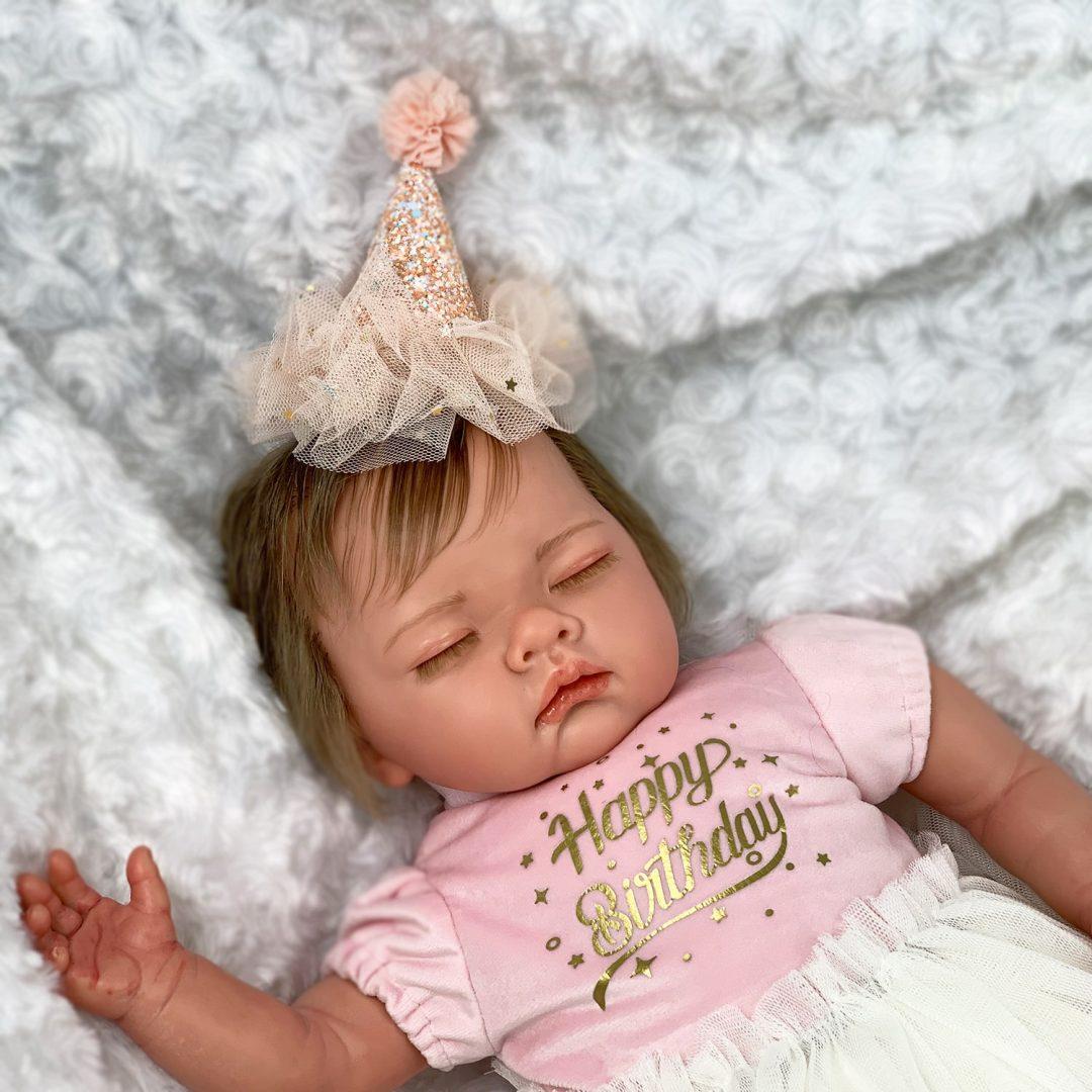 Happy Birthday Baby Reborn Girl Mary Shortle