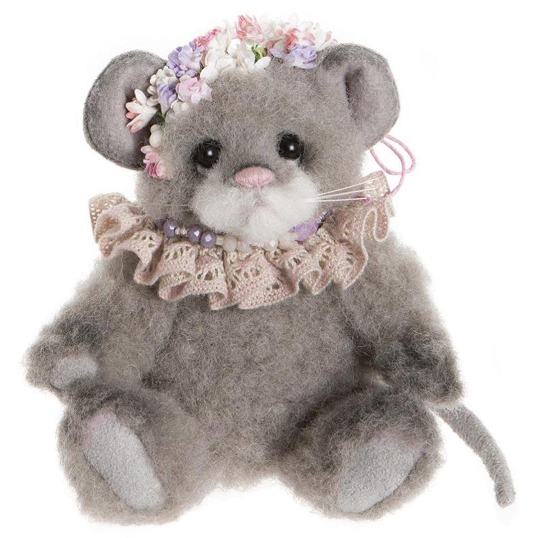 Pearl Grey Charlie Bears Teddy Mary Shortle