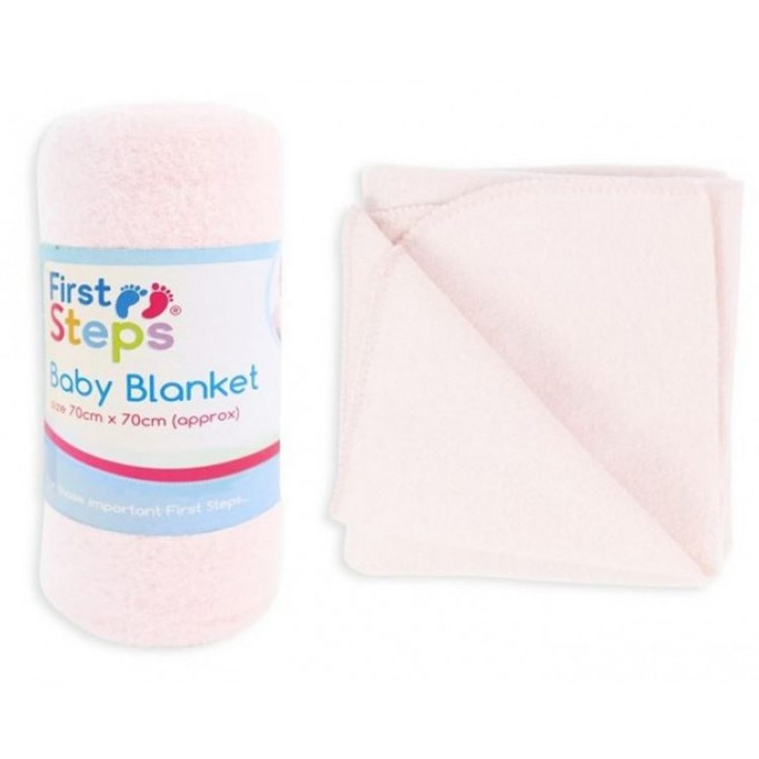 Pink Baby Blanket Mary Shortle